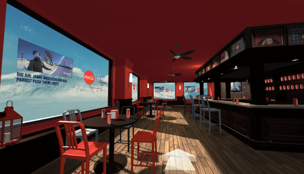 Coca-Cola virtual tour by ByondXR