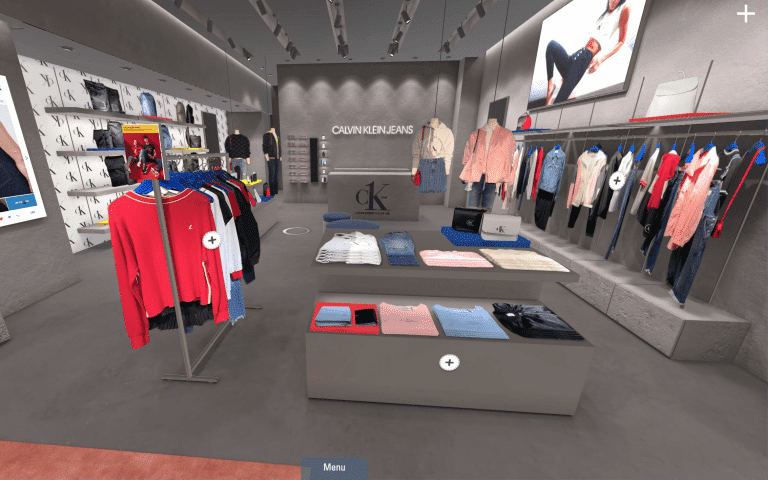 Calvin Klein Virtual Store