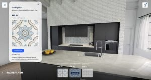 3d interior design Virtual Showroom