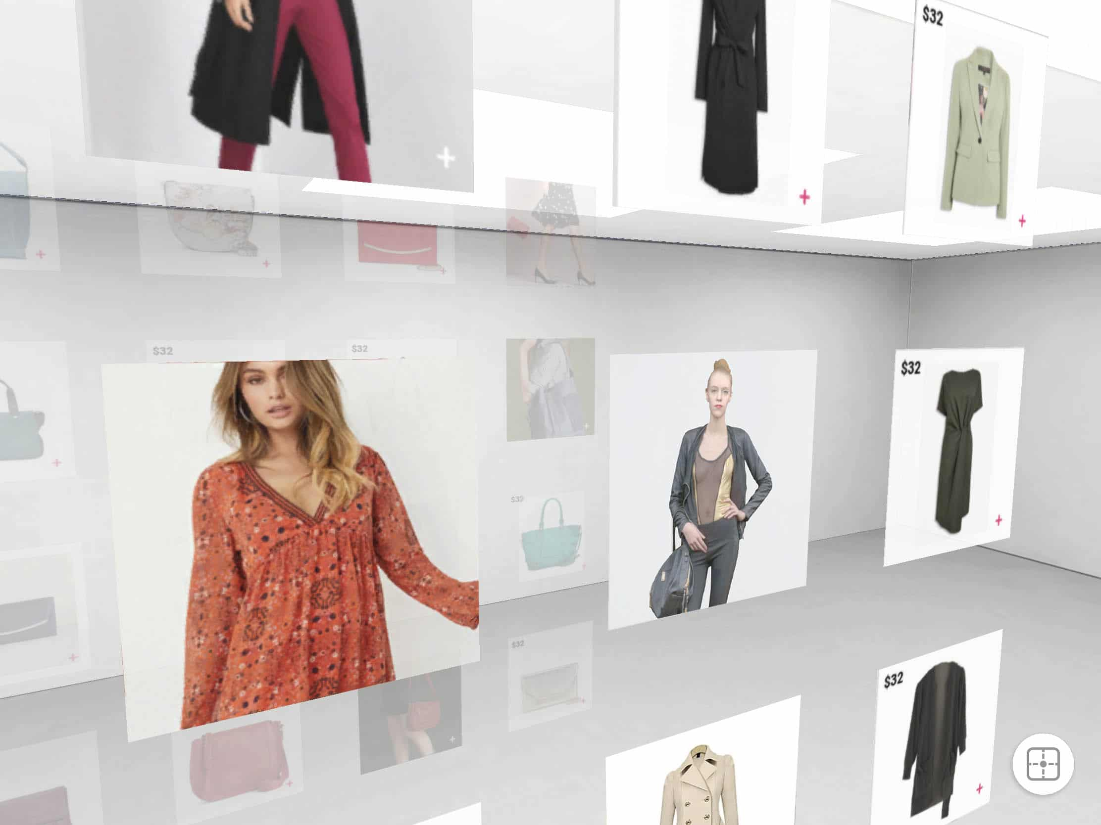 digital showcase solutions for apparel retailers