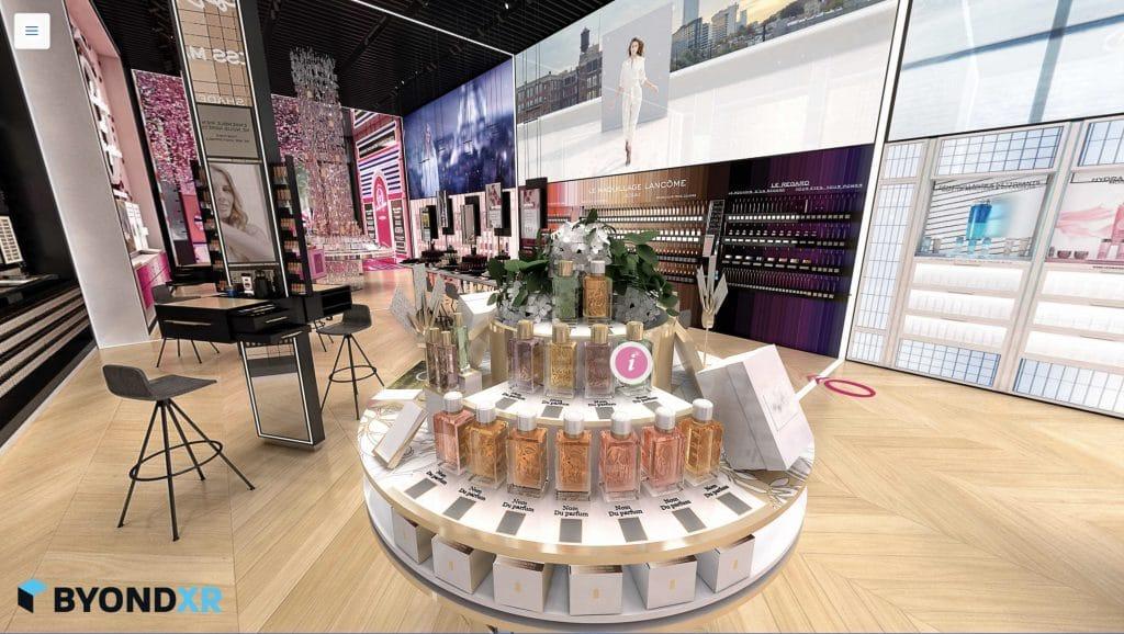 Lancôme & ByondXR - 3D Virtual Store
