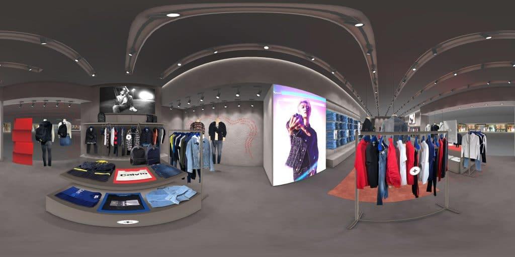 virtual reality shopping mall