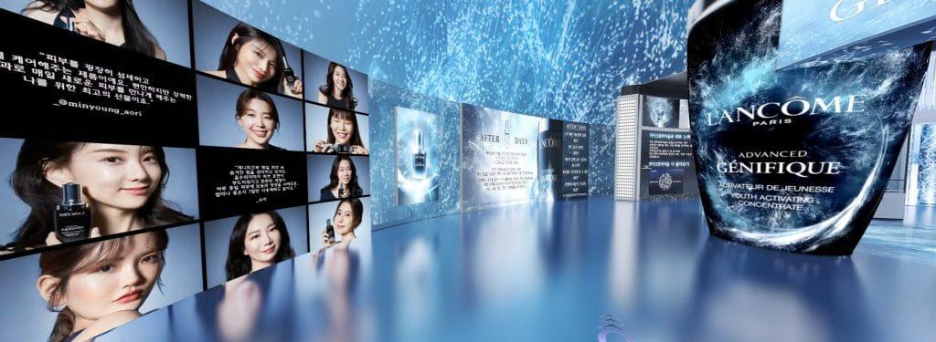 Lancome virtual beauty store