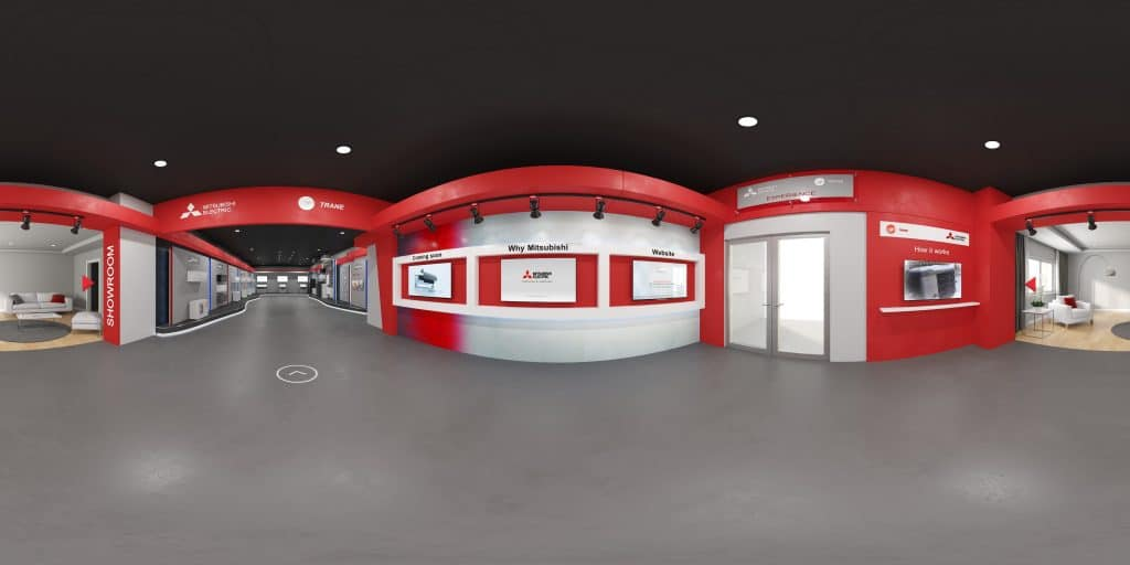Mitsubishi Electric's Virtual Showroom