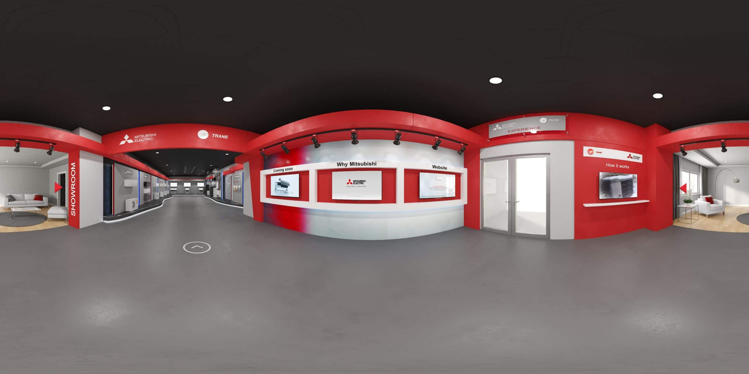 Mitsubishi Electric's Virtual Showroom
